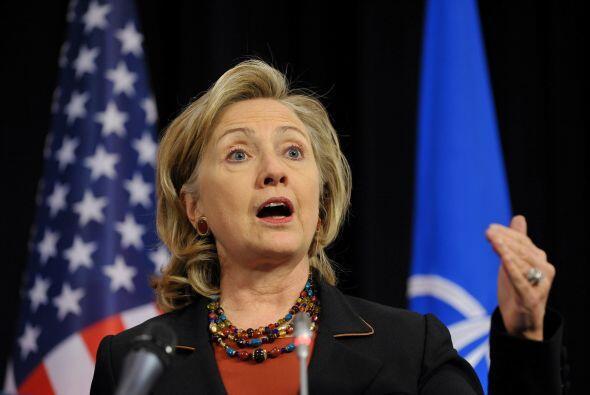 Clinton además afirmó previamente que la violencia de los carteles de la...