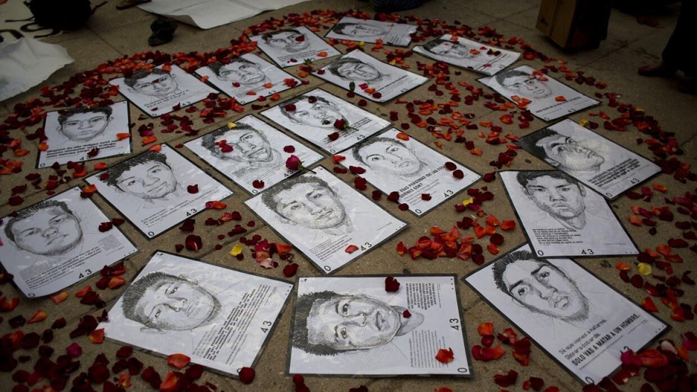 Estudiantes de Ayotzinapa