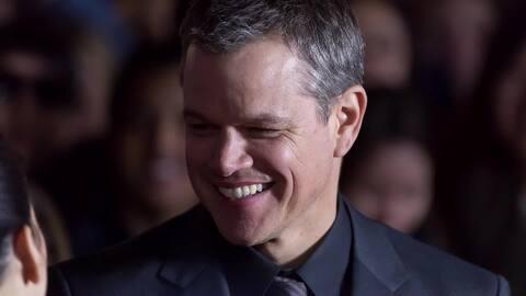 Matt Damon no quitará armas del póster de Jason Bourne