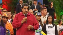 """""""Lo que no se pudo con votos, lo haríamos con armas"""", amenaza Maduro"""