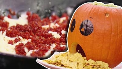 Esta receta de queso fundido es ideal para compartir con tu familia esta noche de Halloween