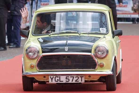 El actor británico Rowan Atkinson, famoso por su papel de 'Mr. Bean' pre...