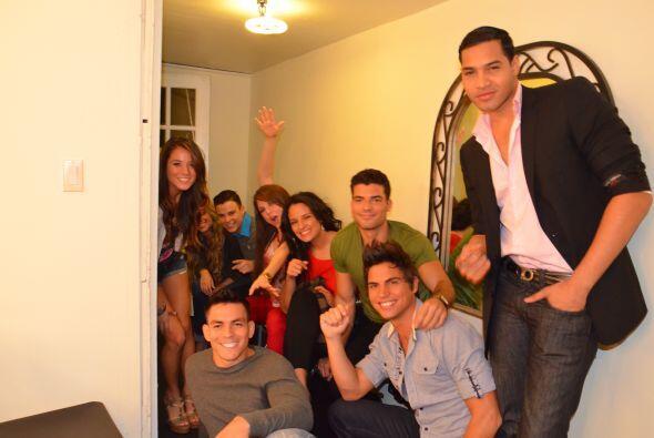 La foto del grupo que no podía faltar. Todos resultaron ser como hermanos.