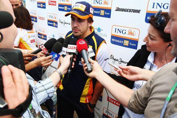 Alonso terminaría la temporada como quinto lugar y aunque anunciaría su...