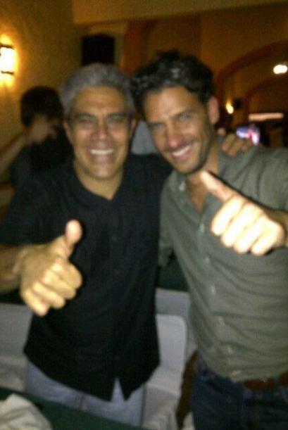 """Marcelo y Ricardo felices por el triunfo de México. """"Fuimos a #GANARoGAN..."""