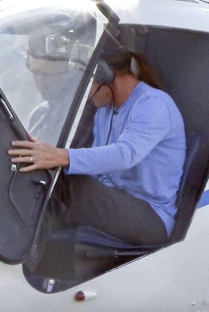 En realidad, Bruce quería tomar clases sobre cómo manejar un helicóptero.
