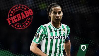 ¡Se confirma! Diego Lainez elige al Betis y jugará a lado de Andrés Guardado