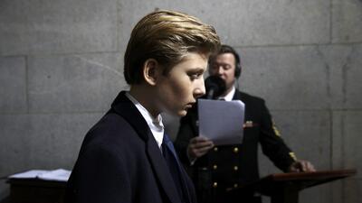 Los hijos de Donald Trump en la toma de posesión, el día más importante de su padre