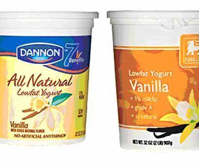 7. Dannon contra Food LionVeredicto: Empate.Tienen mucho sabor lácteo y...