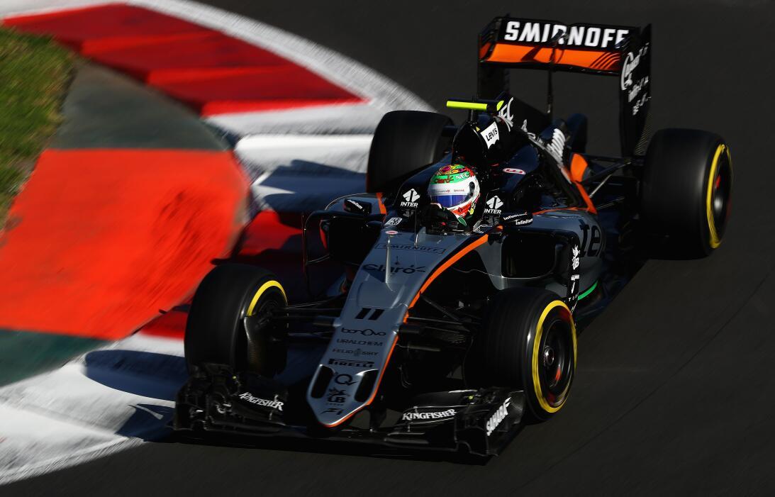'Checo' Pérez, la promesa de Fórmula 1 que vuelve a casa GettyImages-619...