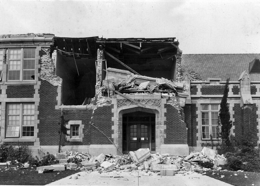 Terremoto Long Beach 1933