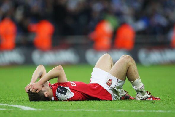 Triste decepción que se lleva el Arsenal, que ahora debe encarar la rect...
