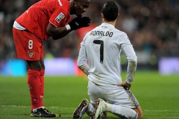 Algunos jugadores se hicieron de palabras con Cristiano.