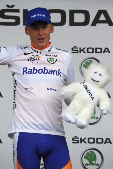 Y el joven mejor clasificado de esta etapa fue el holandés Robert Gesink.