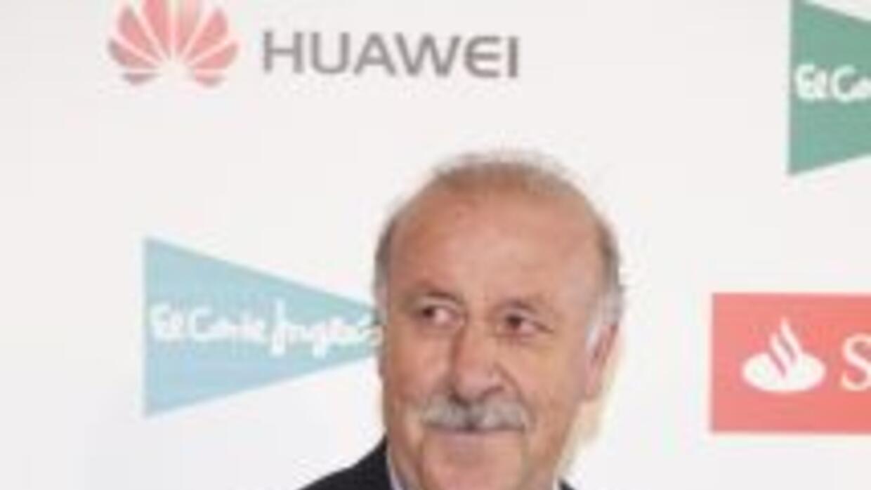 Vicente Del Bosque fue elegido el mejor seleccionador del 2012.