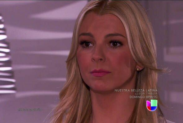 Sofía está muy preocupada. No quiere que tu corazón sufra otra decepción.