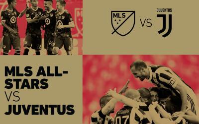 Juventus será rival del Equipo de las Estrellas de la MLS en 2018