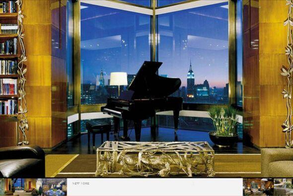 Lujosa y con una excelente vista, la habitación más cara de este complej...