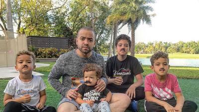 De familia numerosa: mira cómo lucen los cuatro hijos de Nacho Mendoza