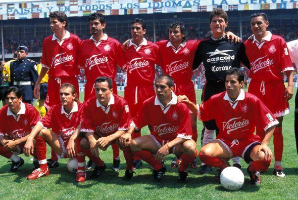 En el Verano 1998 el primer lugar fue Toluca, en segundo se ubicó Necaxa...