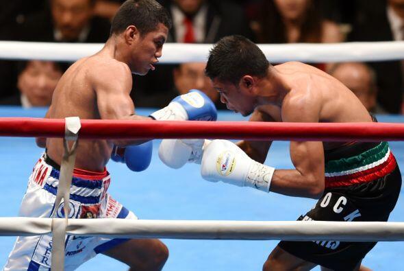 'Chocolati' demostró clase en su boxeo mientras duró la pelea.