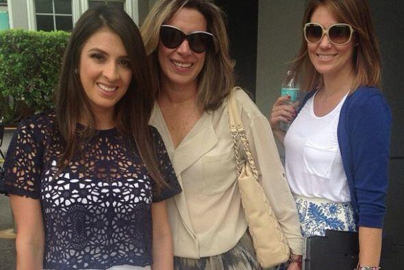 """""""¡Mujeres que admiro y respeto! @luzmadoria @rosendok"""", compartió Maity...."""