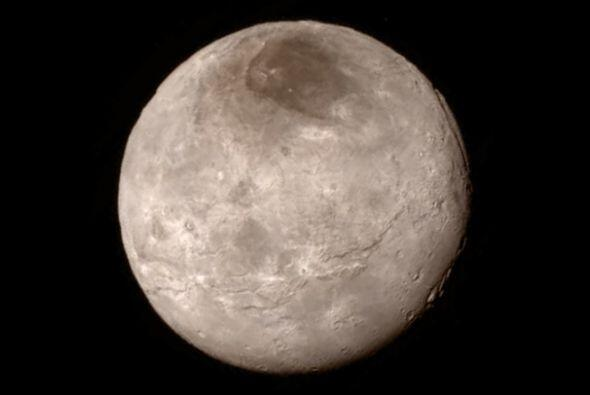 Charon en una fotografía tomada el 13 de julio de 2015.