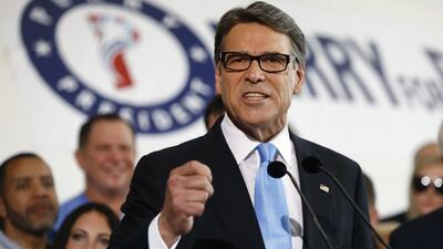 Rick Perry se une a la lista de precandidatos republicanos a la presiden...