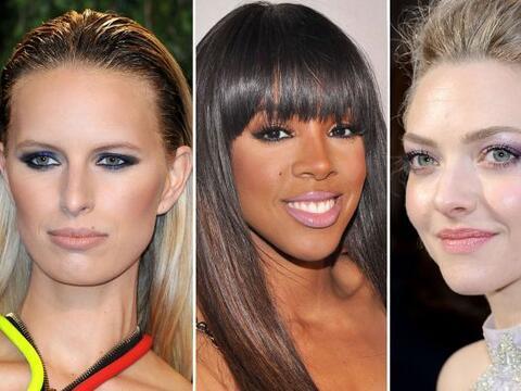 Las famosas ya llevan lo último en tendencias de maquillaje para...