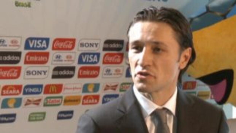 Brasil 2014: Kovac asume el reto de Croacia
