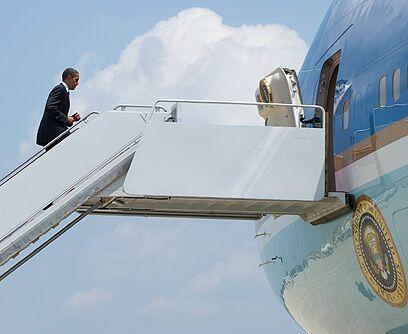 No fue la última. El viernes 4 de junio Obama estuvo en Luisiana...