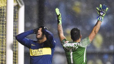 En fotos: los primeros duelos de los octavos de final de la Copa Libertadores de América