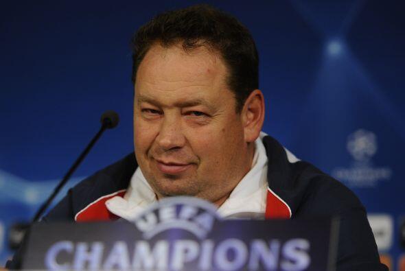 Mientras, el CSKA se ha puesto la piel de cordero para visitar el estadi...