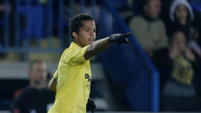 Giovani hizo el segundo gol del Villarreal.