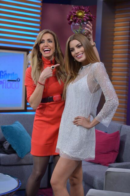 ¡Miss Colombia pasó un día increíble con El Gordo y La Flaca! DSC_3140.JPG