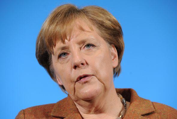 """Merkel pidió que los países europeos apliquen """"lo antes posible"""" un pact..."""
