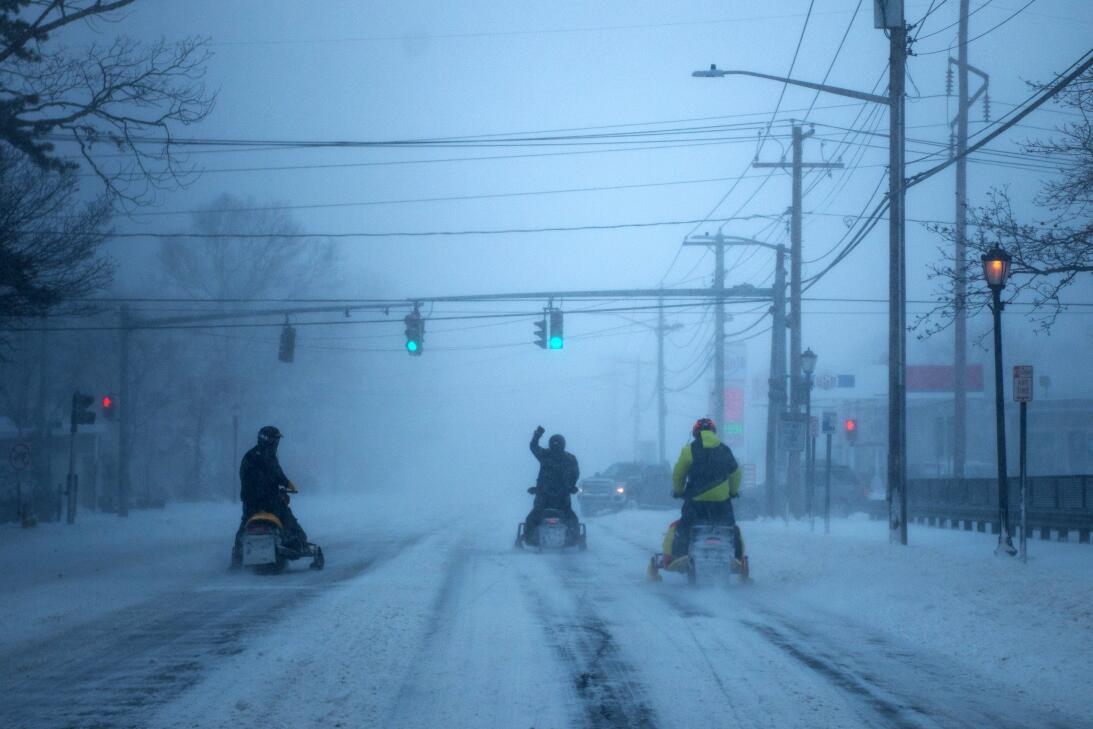 Tormanta de Nieve jueves