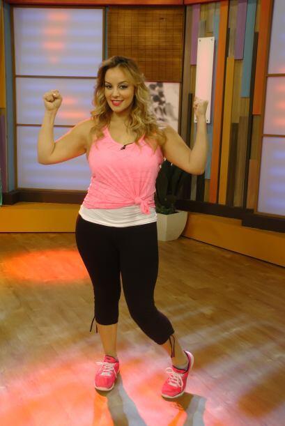 La hermosa Rosie Rivera demostró que el ejercicio es parte de su vida di...