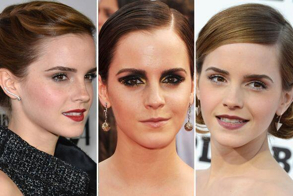 """Emma Watson pasó de tener unos pelos de """"bruja"""" a una m..."""