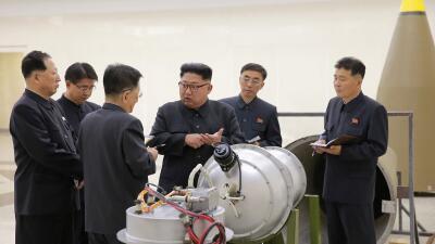 Kim Jong Un ordenó el ensayo con la bomba H