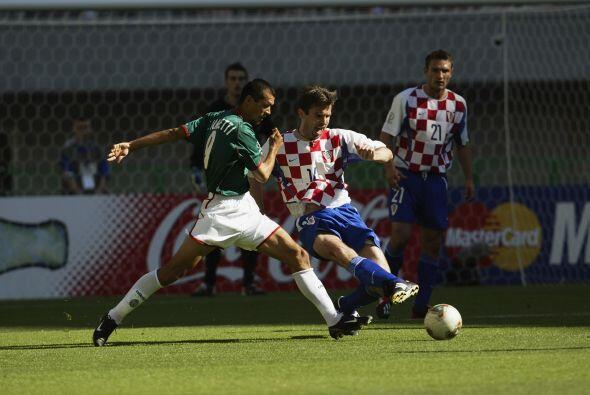 En Corea-Japón 2002, México se colocó en el Grupo G junto con Croacia, E...