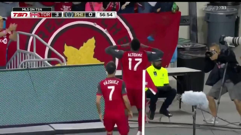 Jozy Altidore termina con la sequía y consigue el 3-0 para Toronto FC