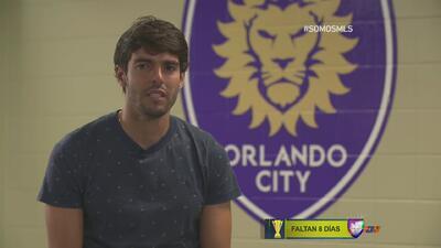 #SOMOSMLS   Kaká: ''Mi cabeza está enfocada en Orlando''