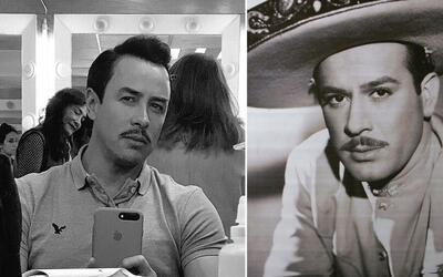 Jorge Gallegos y Pedro Infante
