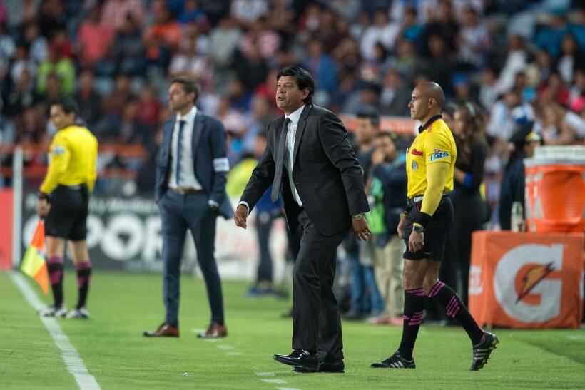 Puebla saca de Pachuca un meritorio empate sin goles Jose Cardozo DT Pue...