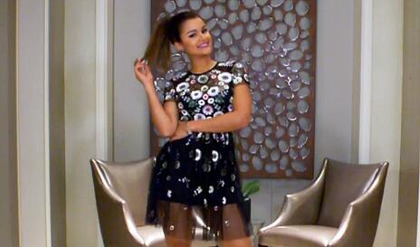 Clarissa Molina busca su outfit para PJ