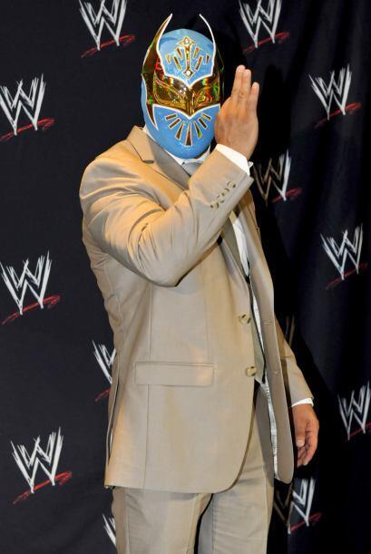 ¡La máscara de Sin Cara es espectacular!
