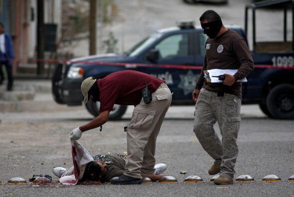 También ha dicho que la tasa de homicidios por cada 100,000 habitantes m...