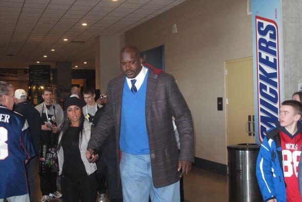 El ex basquetbolista Shaquille O'Neal fue una de las primeras figuras de...