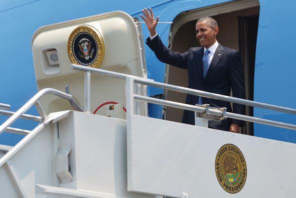 El presidente de Estados Unidos, Barack Obama, llegó a Costa Rica para c...